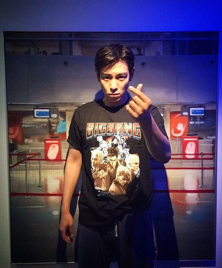 160610 TOP Instagram: SEOUL -> FOSHAN