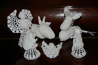 Ravelry: Nativité crèche de Noël pattern by Suzelle GUEGAN