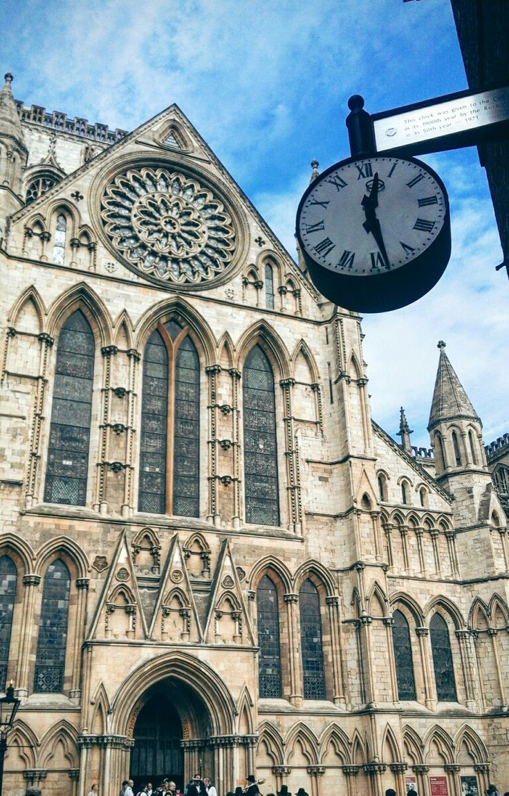 Cathedral, York, Capital of Yorkshire, UK