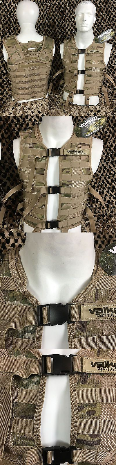 Vests 36284: New Valken V-Tac Tango Ii Molle Tactical Paintball Vest - V-Cam Camo - 4Xl 5Xl -> BUY IT NOW ONLY: $69.95 on eBay!