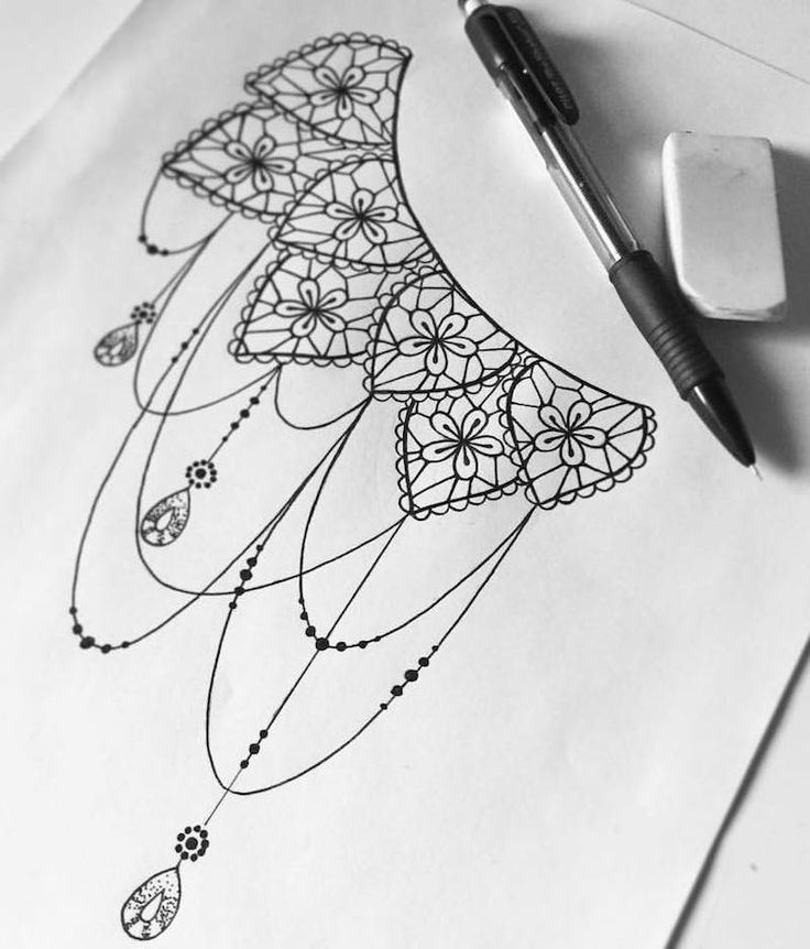 Awesome Dessin Tatouage Dentelle Mandala Tatu Pinterest