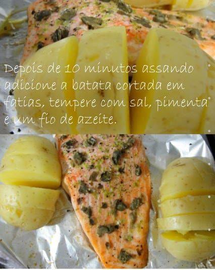 Seu trabalho é só temperar bem o salmão com limão, alcaparras, sal e pimenta. Veja a receita aqui.