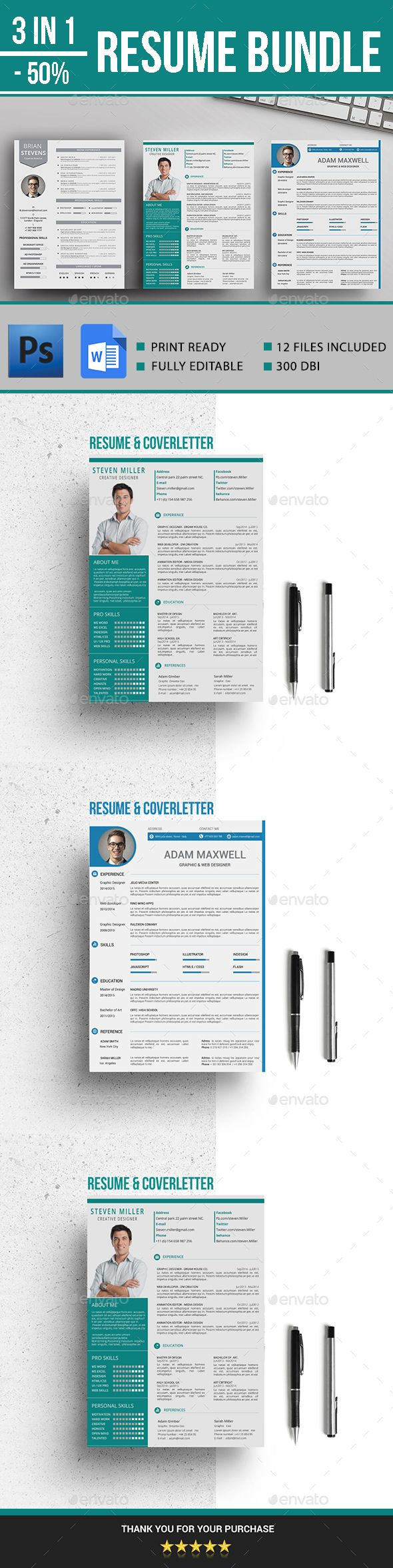 Resume 33 best CV images on Pinterest
