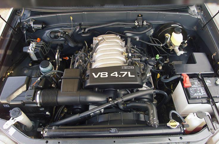 2003-2004 Toyota Tundra 4.7L V-8 Engine