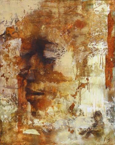 """Saatchi Art Artist Iris Schreven; Painting, """"The Kiss - Limited edition of Certified Art Giclée™ (3/15)"""" #art"""