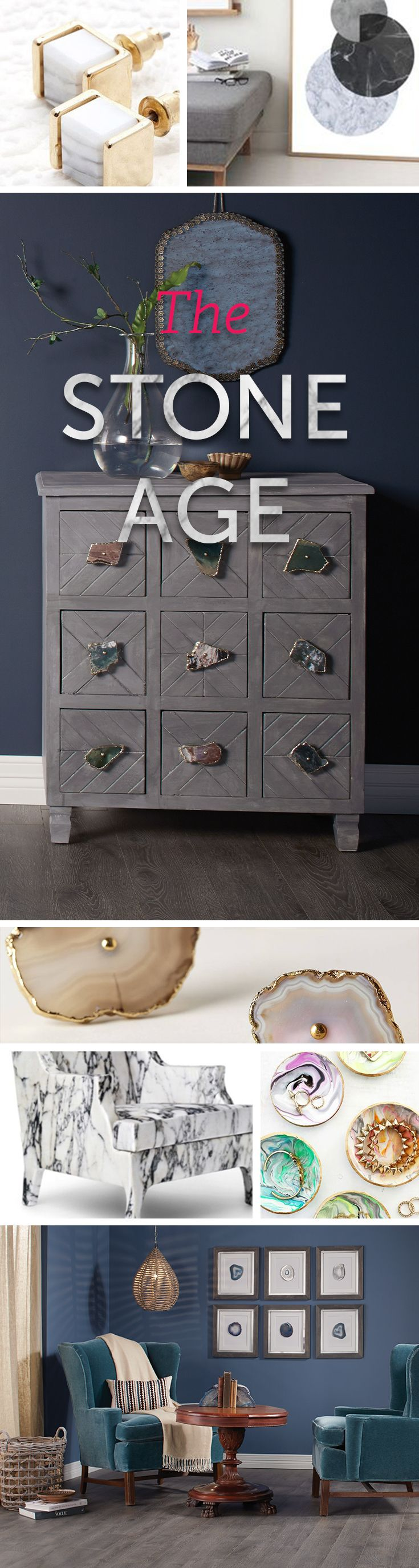Loving these quartz and stone-inspired looks! Get inspired with this new trend.
