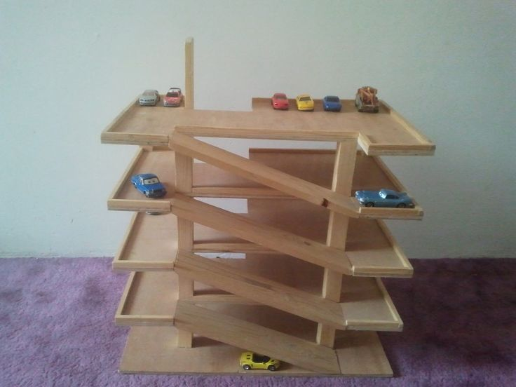 Perfect Toy Garage  By Bj383ss  LumberJockscom  Woodworking