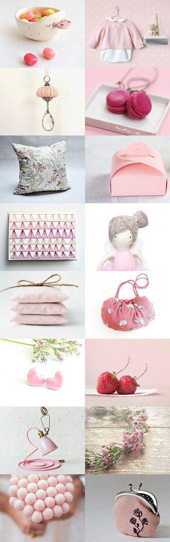 pinky sweets by Irina Mastakova on Etsy--Pinned with TreasuryPin.com