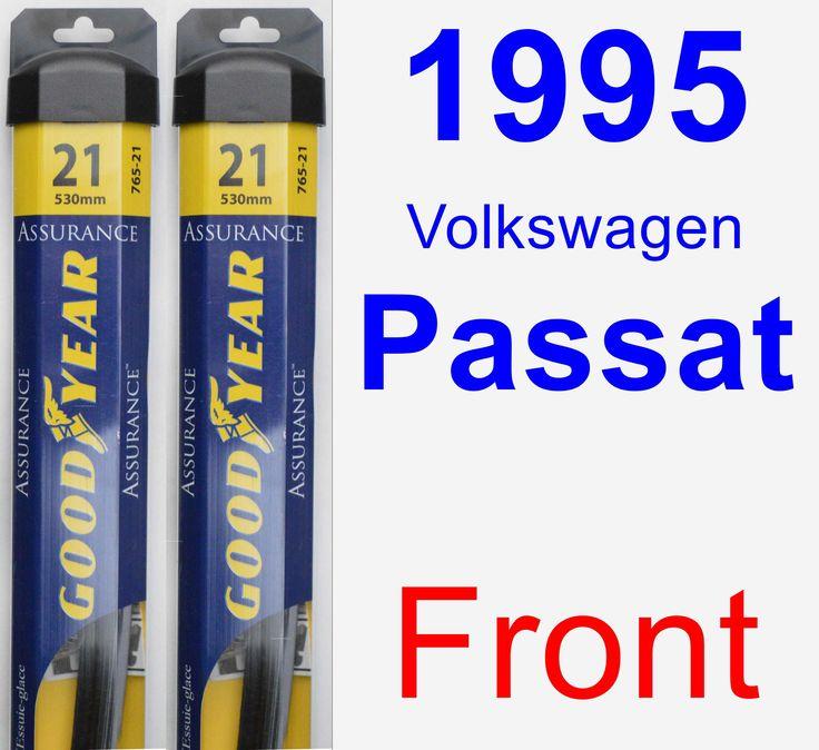 Front Wiper Blade Pack for 1995 Volkswagen Passat
