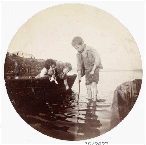 Kodak Kids Boat, 1880-1890