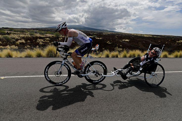 How Tech Will Help This Inspiring Dad Carry His Son Through an Entire Ironman Triathlon