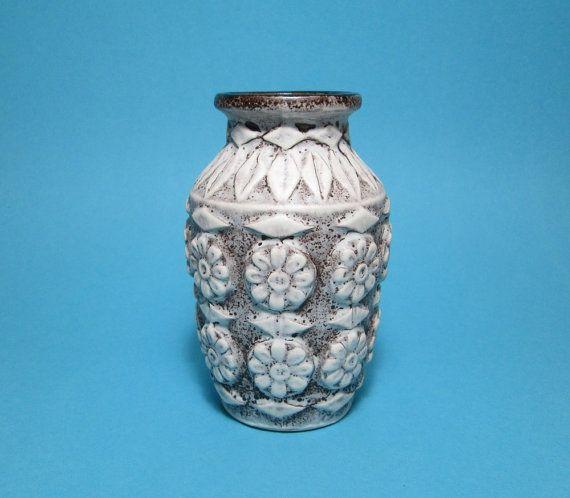 Vintage Vase Flower Vase Bay Keramik Vase 76 West by PeteStop
