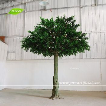 GNW BTR161009 New design big Artificial green olive tree for sale