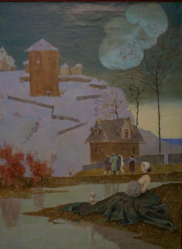Борис Свешников (1927-1998) - Волшебная прогулка. 1957 г.