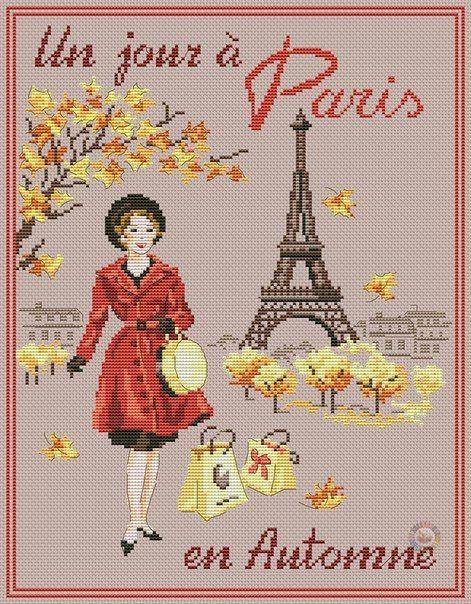 Un giorno a Parigi in autunno