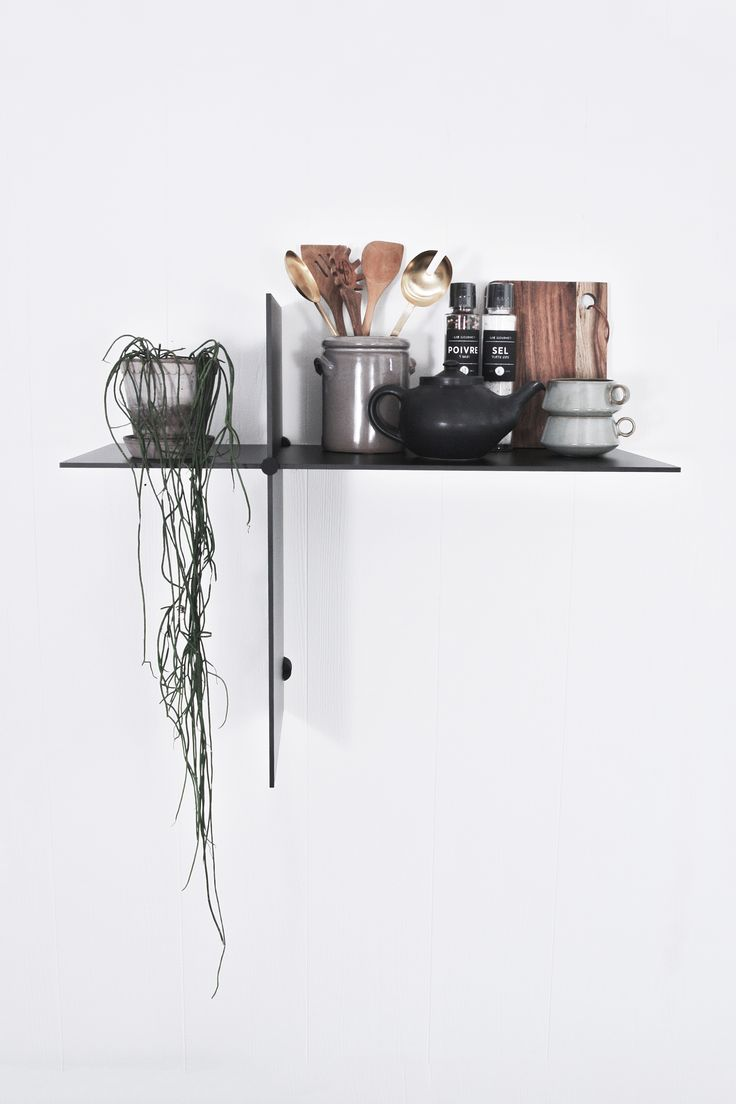 Up The Wall shelves by Bent Hansen.