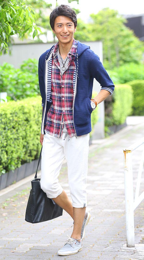 メンズチェックシャツ春夏のコーディネート - 大人のファッションカレッジ