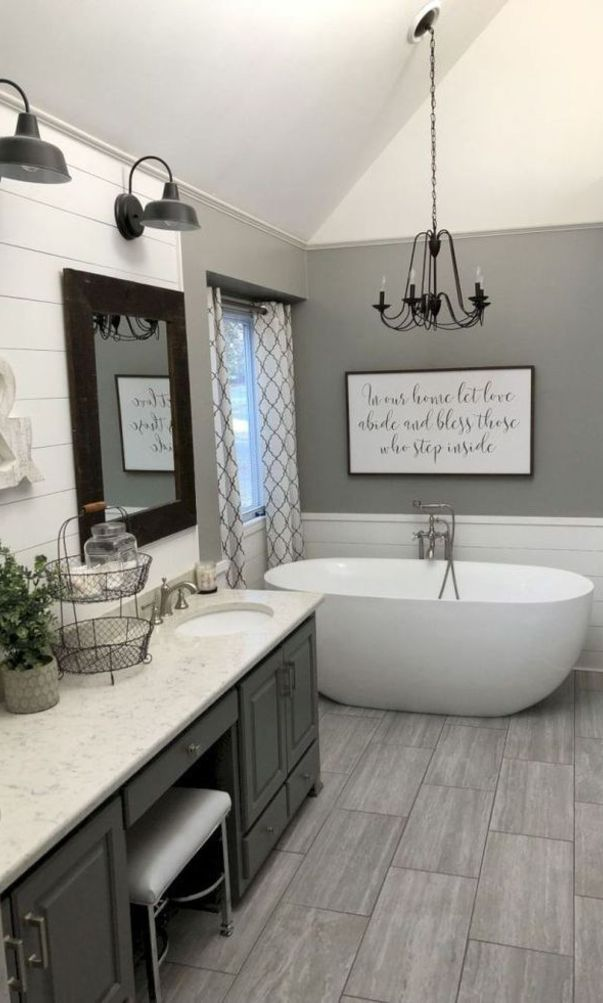 59 Stylish And Original Decorating Ideas For Bathrooms 2020 Part 47 Bathroom Renovation Diy Bathroom Remodel Master Diy Bathroom Remodel