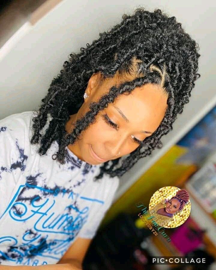 Pin By Tywania Dudley On Hair Pt2 Twist Braid Hairstyles Natural Hair Styles Braided Hairstyles