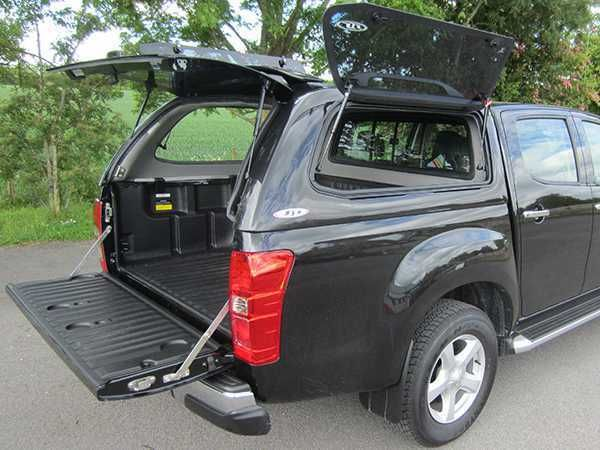Isuzu D-Max SJS Side Opening Hardtop Double Cab - Central Locking Optional Extra for the Isuzu D-Max MK5 (17-ON)