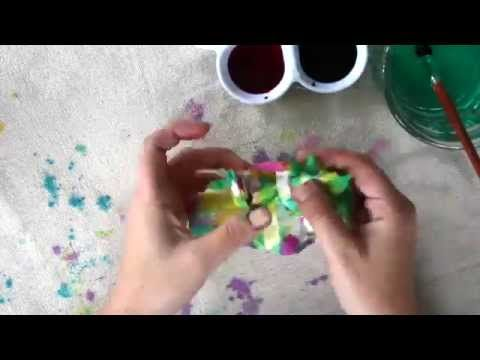 Crumpled Paper Art for Kids Inspired by Ish - Buggy and Buddy