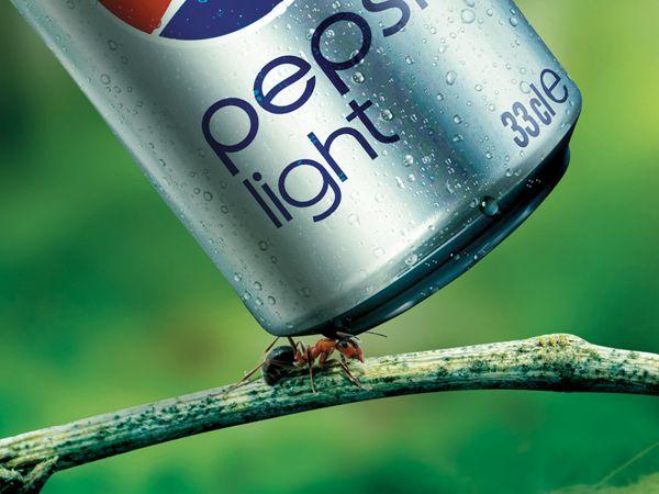 Pepsi Light Print Ad on Behance