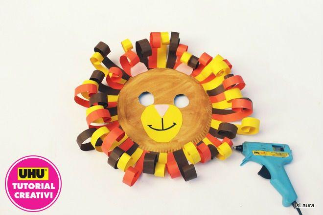Carnevale: la maschera da leone fai da te