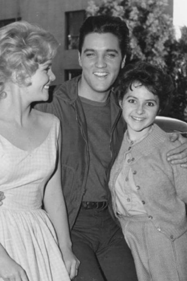 Elvis and Tuesday Weld and Brenda Lee