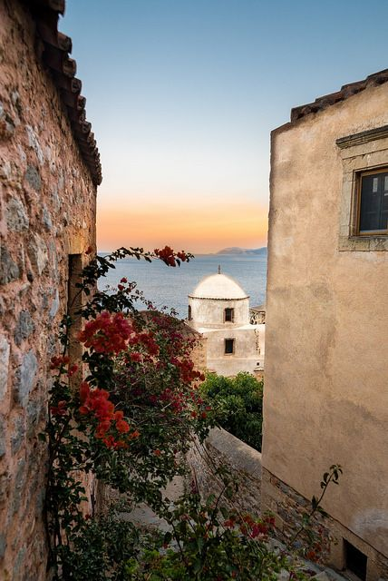 Monemvasia / Greece #monemvasia #greece #travel #europe #lakonia #nikon_d750 #landscape #seascape #Λακωνια  #Ελλαδα #Πελοποννησος #peloponnese #Μονεμβασια #architecture #buildings