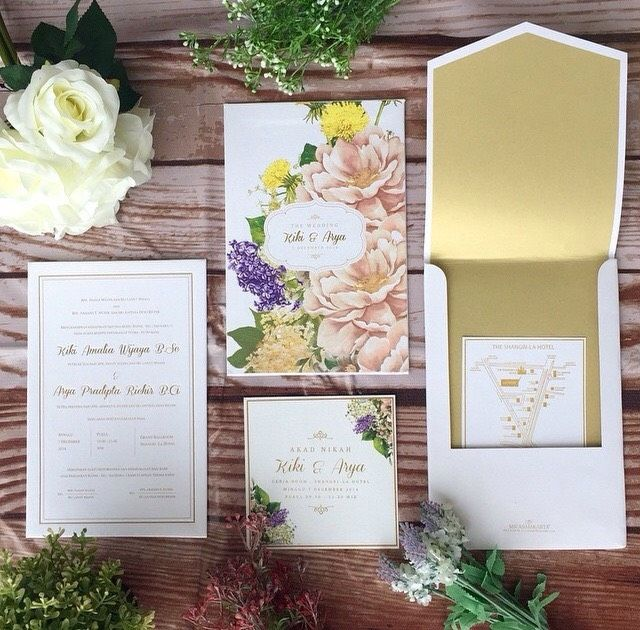 58 best wedding invitation images on pinterest bridal floral wedding invitation project by micasa jakarta httpbridestory stopboris Images