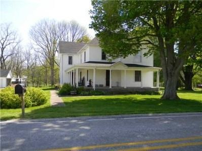 3841 N State Road 75, North Salem, IN. You will love the charm the minute you enter this home! This 5BR/2BA home provides plenty of living space w/lots of history & character. Inside features: MBR on main lvl pocket doors locks w/skelton keys hrd pinewd flrs stain wdwrk throughout biltin cabinet lrg EIK 2 staircases & loft w/bench seat. Outside: wrap around porch, 4 outbldgs including a 3C det gar, barn & chicken coop Elec Fence and & 7 beautiful acres w/a creek. Too much to mention, must…