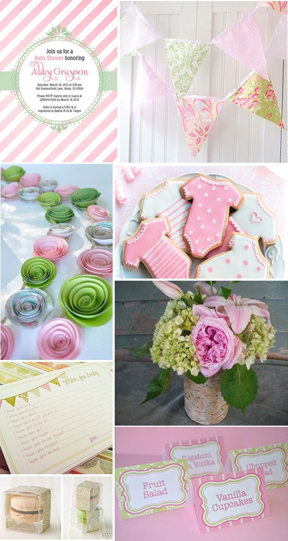 Etsy Baby Showers