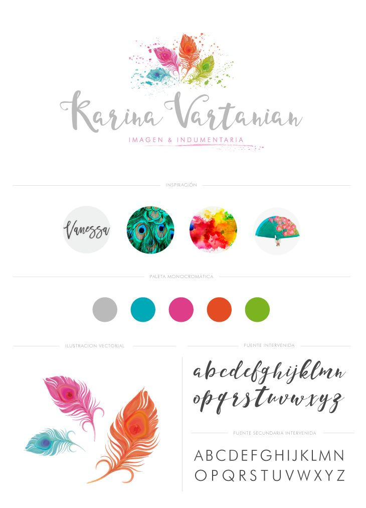 Diseño de Logo e Ilustración - Logo designs - Feminine Branding - Ilustration