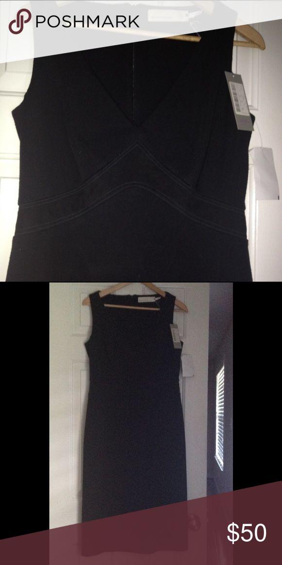 Vic.Victor Alfaro  Wool Blend Midi dress NWT Vic.Victor Alfaro Wool Blend Midi Dress from former off price retailer Daffey's New York 45% Virgin Wool/3% Elastan Back Zipper NWT. Dresses Midi