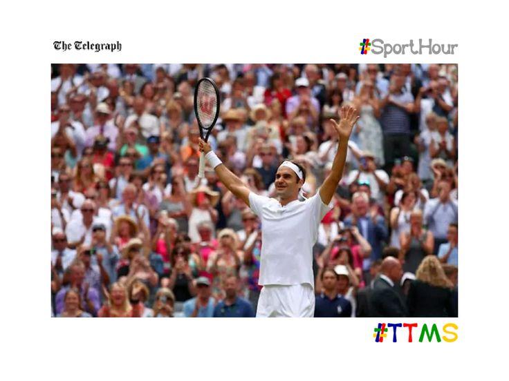 ttms.blog/eujeGK  All the best photos from #wimbledon 2017.  #ttms #sporthour #tennis #federer #muguruza #murray #sw19