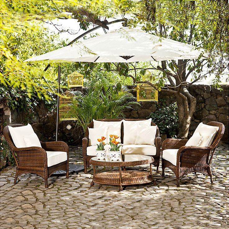 Si quieres mantener el estilo rústico en tu terraza, elige muebles de fibra natural y compleméntalos con decoración artesanal. #SodimacHomecenter #Sodimac #Homecenter