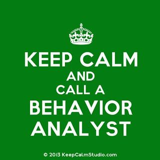 Behavior Analysis, It's What I Do #keepcalm #bcba