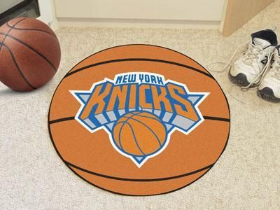 FANMATS NBA New York Knicks Nylon Face Ultimat Rug