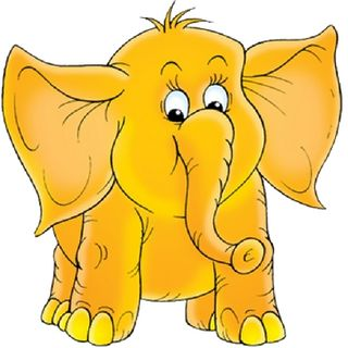 Baby Elephant Pictures - Cute Cartoon Elephant Clip Art
