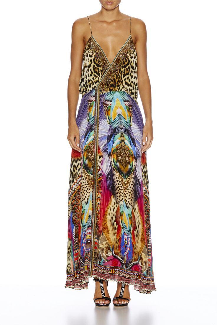 Camilla - Kingdom Call / Strappy Wrap Dress
