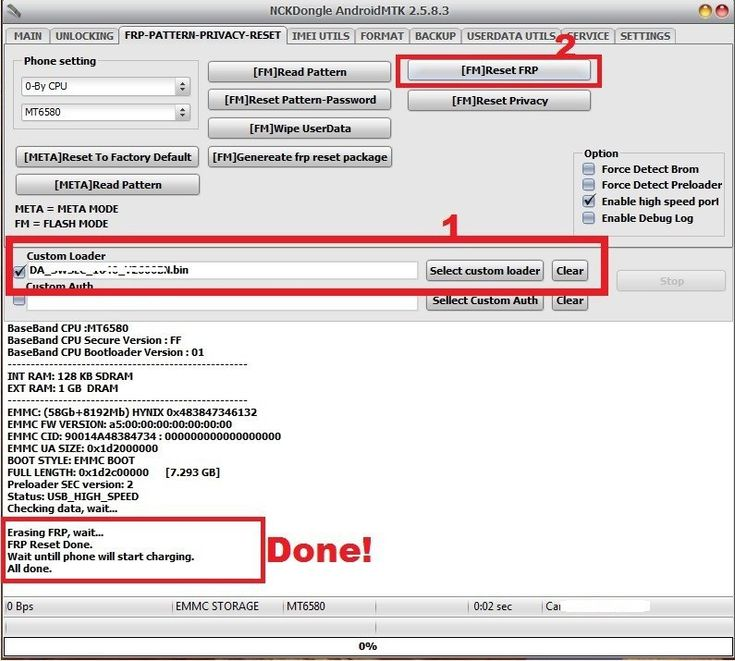 how to remove FRP with Custom boot file [DA] with NCK BOX/ DONGLE