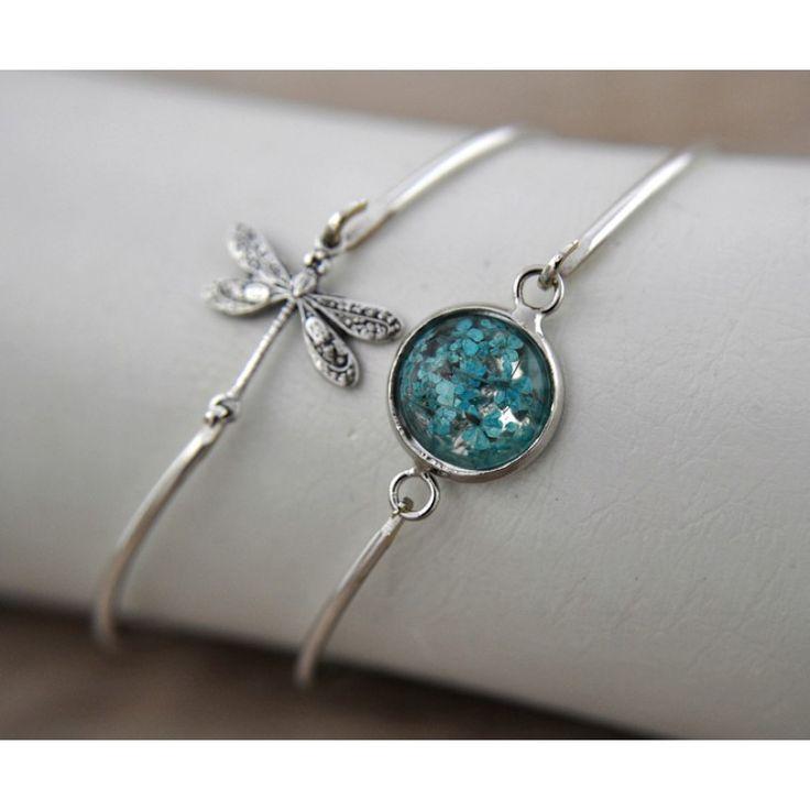 BLUE GARDEN Gümüş Kaplama İkili Bilezik Seti http://ladymirage.com.tr/bilezik-bileklik.html/blue-garden-g%C3%BCm%C3%BCs-kaplama-ikili-bilezik-seti-79110271.html?limit=100 #yusufçuk #gerçekçiçek #bilezik #gümüşkaplama #takı #tasarım #elyapımı #mavi