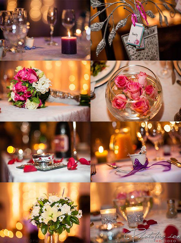 #wedding decor, flowers table arrangements