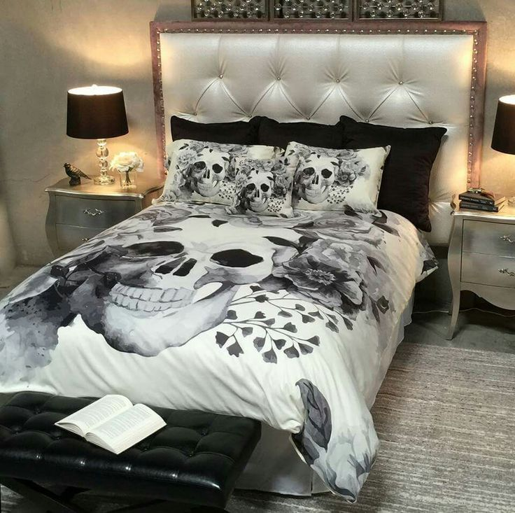 143 Best Skull Bedding Images On Pinterest