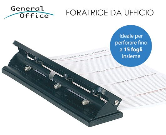 PUNZONATRICE FORATRICE BUCATRICE FOGLI A4-A7 FINO a 15 FOGLI INSIEME | eBay