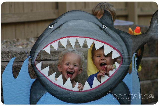 Cute shark photo booth prop #photobooth