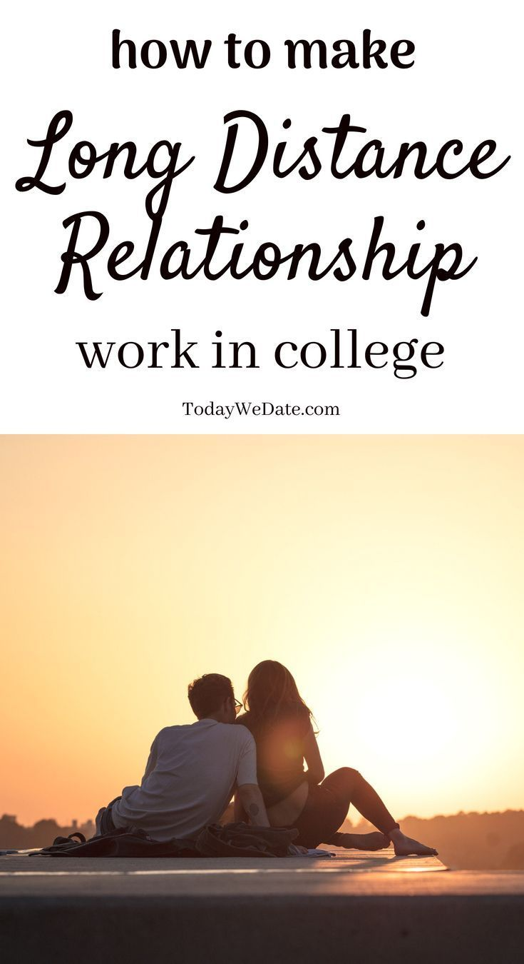 dating in college long distance