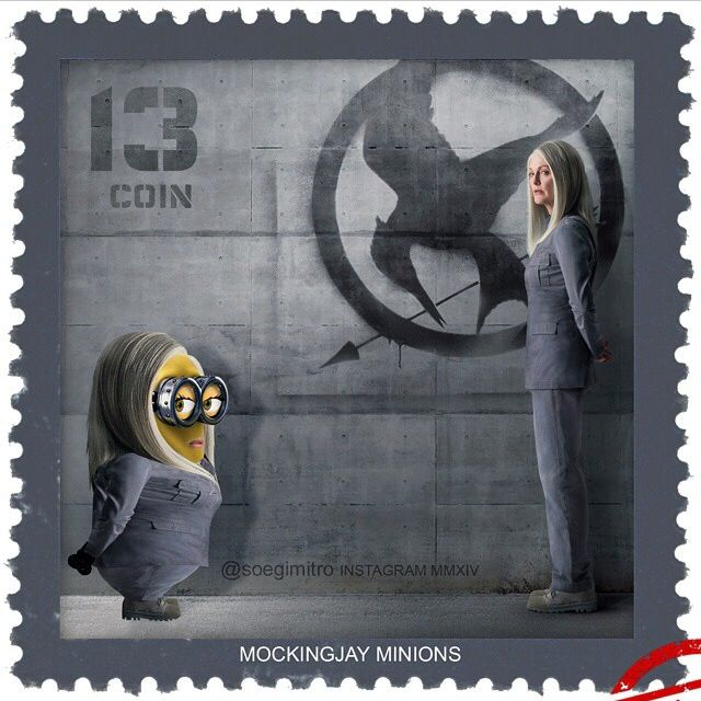 The Hunger Games Mockingjay Minions. WHY IS THIS SO FUNNY                                                                                                                                                                                 Más
