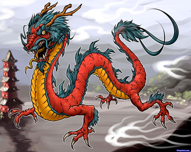 127 best dragons and fire images on pinterest drawing tutorials japanese dragon ccuart Choice Image