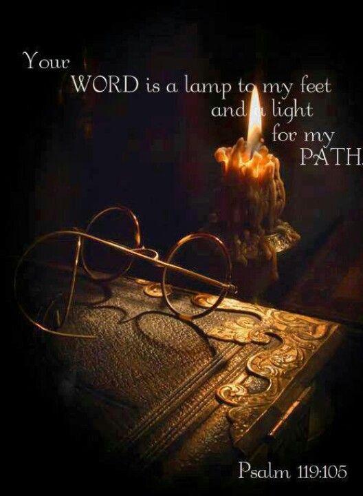 Uw Woord is een lamp voor mijn voet en een licht op mijn pad.